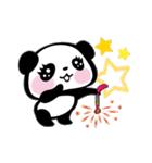 パンダぁー4【夏はアツアツ編】(個別スタンプ:12)