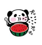 パンダぁー4【夏はアツアツ編】(個別スタンプ:15)