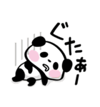 パンダぁー4【夏はアツアツ編】(個別スタンプ:28)