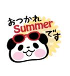 パンダぁー4【夏はアツアツ編】(個別スタンプ:39)