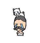 ヒゲおじさんと猫 その3(個別スタンプ:05)