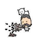 ヒゲおじさんと猫 その3(個別スタンプ:08)