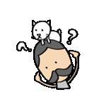 ヒゲおじさんと猫 その3(個別スタンプ:12)