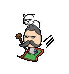 ヒゲおじさんと猫 その3(個別スタンプ:29)