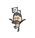 ヒゲおじさんと猫 その3(個別スタンプ:31)