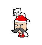 ヒゲおじさんと猫 その3(個別スタンプ:36)