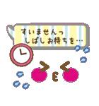 かわいい女の子顔文字♥【敬語/先輩/年上】(個別スタンプ:36)