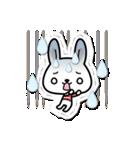 ときめきウサちゃんDX【ラブ&日常会話】(個別スタンプ:22)