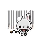 ときめきウサちゃんDX【ラブ&日常会話】(個別スタンプ:24)