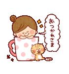 夏に使える『女の子×アニマル』(個別スタンプ:02)