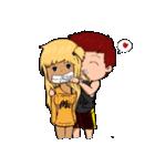 Mi&Mi couple(個別スタンプ:17)