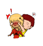 Mi&Mi couple(個別スタンプ:22)