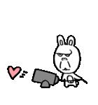 ゴリラ顔のウサギ(個別スタンプ:09)