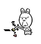 ゴリラ顔のウサギ(個別スタンプ:11)