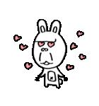 ゴリラ顔のウサギ(個別スタンプ:12)