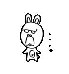 ゴリラ顔のウサギ(個別スタンプ:18)