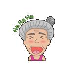 Grandma Grandpa(個別スタンプ:02)