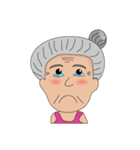 Grandma Grandpa(個別スタンプ:15)