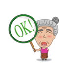 Grandma Grandpa(個別スタンプ:22)
