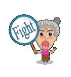 Grandma Grandpa(個別スタンプ:24)
