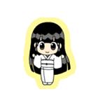 幸福を呼ぶ座敷童子ちゃん(個別スタンプ:01)
