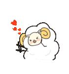 あいづち羊(個別スタンプ:3)