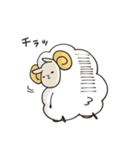 あいづち羊(個別スタンプ:25)