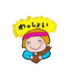 おかっぱちゃんの悲喜こもごも♪(個別スタンプ:9)