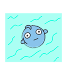 魚ッチョ(個別スタンプ:36)