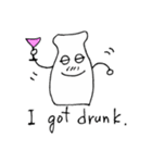 牛乳びんのびんちゃん(個別スタンプ:12)