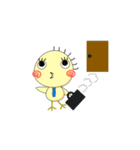 サラリーマンぽっぽ(個別スタンプ:19)