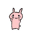てきとうウサギの脱力スタンプ(個別スタンプ:4)