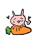 てきとうウサギの脱力スタンプ(個別スタンプ:9)