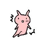 てきとうウサギの脱力スタンプ(個別スタンプ:35)