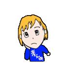 文字入りTシャツ(個別スタンプ:10)