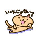 茶猫エム(個別スタンプ:9)