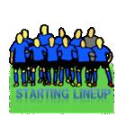サッカー選手スタンプ3(個別スタンプ:02)