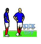 サッカー選手スタンプ3(個別スタンプ:03)