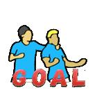 サッカー選手スタンプ3(個別スタンプ:09)