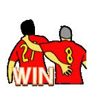サッカー選手スタンプ3(個別スタンプ:13)