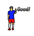サッカー選手スタンプ3(個別スタンプ:27)