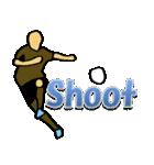 サッカー選手スタンプ3(個別スタンプ:34)