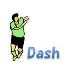 サッカー選手スタンプ3(個別スタンプ:36)