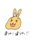 兎君(個別スタンプ:24)