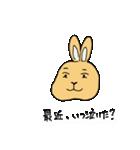 兎君(個別スタンプ:26)