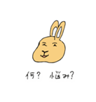 兎君(個別スタンプ:36)