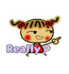 お茶目なみーちゃん7(英語編!)(個別スタンプ:17)