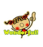お茶目なみーちゃん7(英語編!)(個別スタンプ:23)