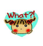 お茶目なみーちゃん7(英語編!)(個別スタンプ:34)