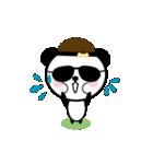 お茶目なパンダのスタンプ(個別スタンプ:35)